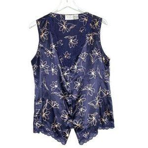 Vintage Nightwear Top Size L VAN RAALTE Sleepwear